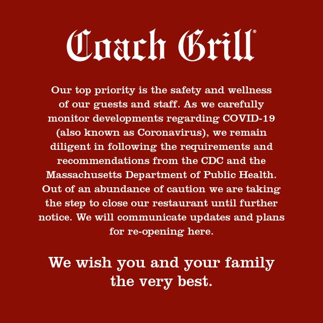 Coach Grill Closure